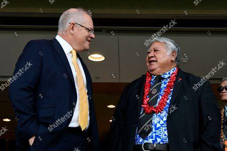 Editorial picture of Prime Minister of Samoa Tuilaepa Aiono Sailele Malielegaoi visits Australia, Sydney - 07 Sep 2019