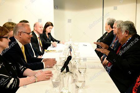 Editorial photo of Prime Minister of Samoa Tuilaepa Aiono Sailele Malielegaoi visits Australia, Sydney - 07 Sep 2019