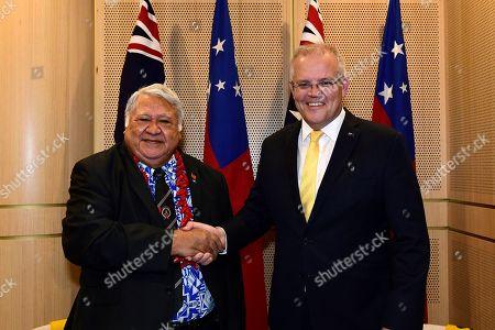 Editorial image of Prime Minister of Samoa Tuilaepa Aiono Sailele Malielegaoi visits Australia, Sydney - 07 Sep 2019