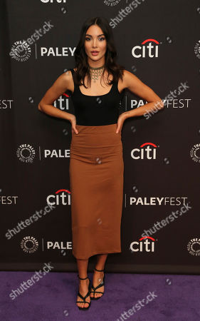 """Maddison Jaizani attends the """"Nancy Drew"""" screening and panel at the 2019 PaleyFest Fall TV previews at the Paley Center for Media, in Beverly Hills, Calif"""