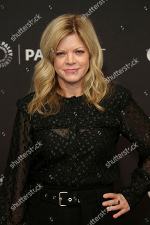 "Stephanie Savage attends the ""Nancy Drew"" screening and panel at the 2019 PaleyFest Fall TV previews at the Paley Center for Media, in Beverly Hills, Calif"