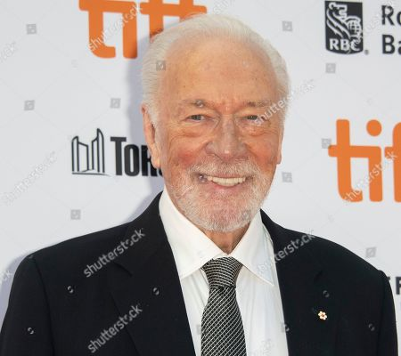 Christopher Plummer arrives for the screening of the movie 'Knives Out' during the 44th annual Toronto International Film Festival (TIFF) in Toronto, Canada, 07 September 2019. The festival runs 05 to 15 September.
