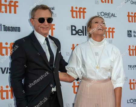 Cast members English actor Daniel Craig (L) and Australian actress Toni Collette (R) arrive for the screening of the movie 'Knives Out' during the 44th annual Toronto International Film Festival (TIFF) in Toronto, Canada, 07 September 2019. The festival runs 05 to 15 September.