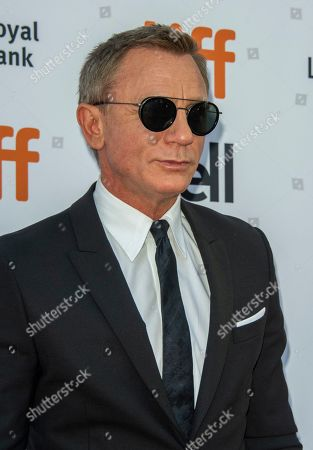 English actor and cast member Daniel Craig arrives for the screening of the movie 'Knives Out' during the 44th annual Toronto International Film Festival (TIFF) in Toronto, Canada, 07 September 2019. The festival runs 05 to 15 September.