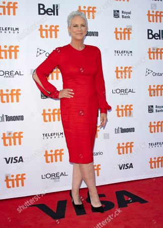 Jamie Lee Curtis arrives for the screening of the movie 'Knives Out' during the 44th annual Toronto International Film Festival (TIFF) in Toronto, Canada, 07 September 2019. The festival runs 05 to 15 September.