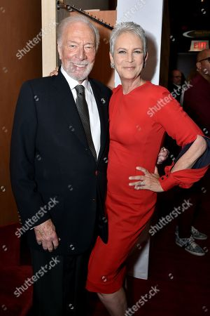 Christopher Plummer and Jamie Lee Curtis