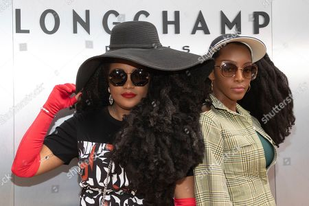 Tk Wonder, Cipriana Quan. Tk Wonder, left, and Cipriana Quan attend the Longchamp runway show at Lincoln Center during NYFW Spring/Summer 2020, in New York
