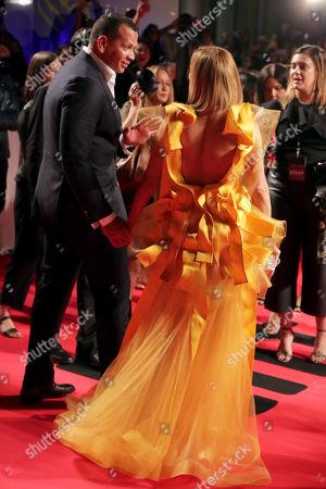 Alex Rodriguez, Jennifer Lopez, Producer/Actress,