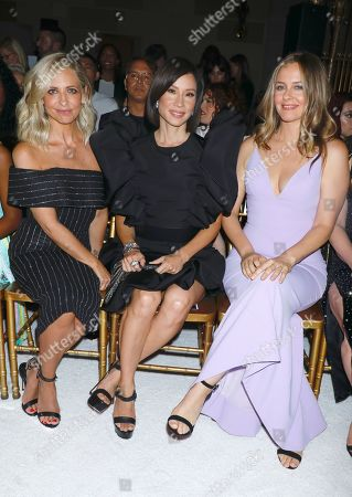 Editorial image of Christian Siriano show, Front Row, Spring Summer 2020, New York Fashion Week, USA - 07 Sep 2019