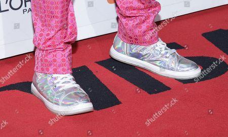 Tituss Burgess, shoe detail