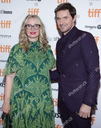 Julie Delpy and Richard Armitage