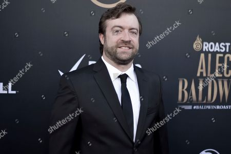 Derek Waters attends the Comedy Central roast of Alec Baldwin at the Saban Theatre, in Beverly Hills, Calif
