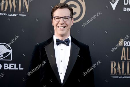 Sean Hayes attends the Comedy Central roast of Alec Baldwin at the Saban Theatre, in Beverly Hills, Calif