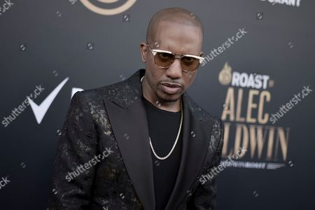 Chris Redd attends the Comedy Central roast of Alec Baldwin at the Saban Theatre, in Beverly Hills, Calif