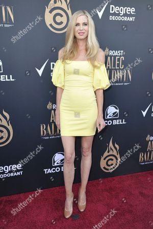 Anne Dudek attends the Comedy Central roast of Alec Baldwin at the Saban Theatre, in Beverly Hills, Calif