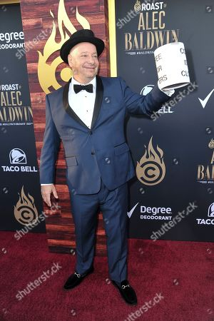 Stock Image of Jeff Ross attends the Comedy Central roast of Alec Baldwin at the Saban Theatre, in Beverly Hills, Calif