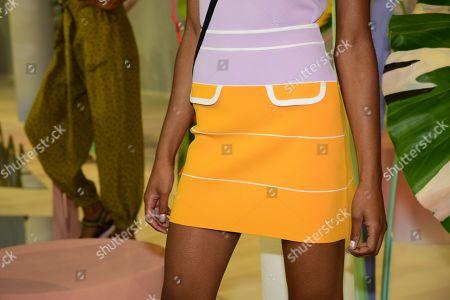 Editorial image of Tanya Taylor presentation, Spring Summer 2020, New York Fashion Week, USA - 08 Sep 2019