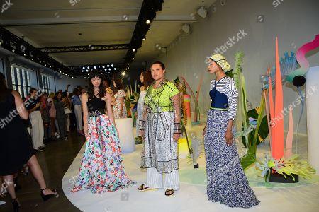 Editorial picture of Tanya Taylor presentation, Spring Summer 2020, New York Fashion Week, USA - 08 Sep 2019