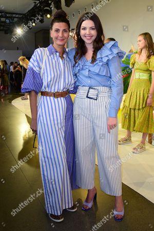 Tanya Taylor and Giovanna Battaglia