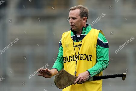 Stock Image of Kerry vs Limerick. Limerick manager Kevin Connolly