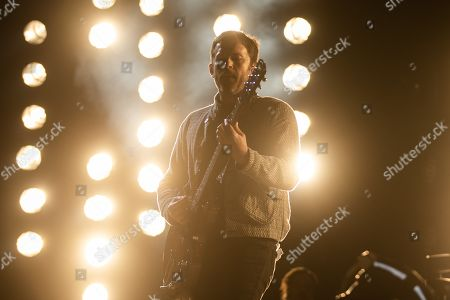 Caleb Followill, lead singer of US band Kings of Leon, performs at Lollapalooza Berlin 2019 at the Olympiastadion (Olympic stadium) in Berlin, Germany, 08 September 2019. The music festival runs from 07 to 08 September.