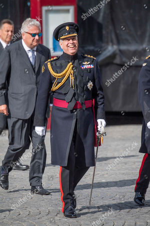 Prince Andrew and Prince Laurent
