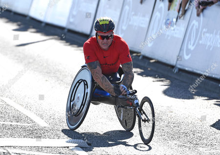 Stock Picture of David Weir winner of the Wheelchair race, Great North Run 2019
