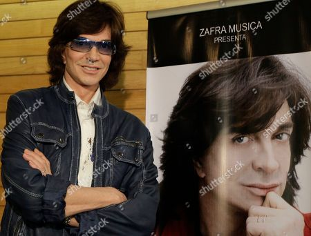 Spanish singer Camilo Sesto poses next to a poster depicting himself during a news conference in Mexico City. Spanish singer and songwriter Camilo Sesto, a popular star in the 1970s and 1980s, has died of heart failure early on . He was 72. Sesto, whose real name was Camilo Blanes Cortes, sold more than 100 million records worldwide over his 40-year career