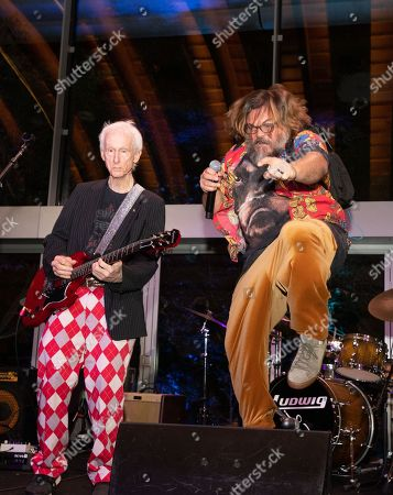Stock Photo of (L-R) Robby Krieger and Jack Black