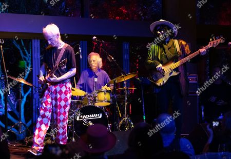 Stock Photo of (L-R) Robby Krieger, John Densmore and Don Was