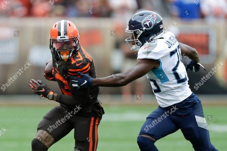 Editorial photo of Titans Browns Football, Cleveland, USA - 08 Sep 2019