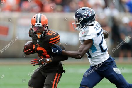 Editorial image of Titans Browns Football, Cleveland, USA - 08 Sep 2019
