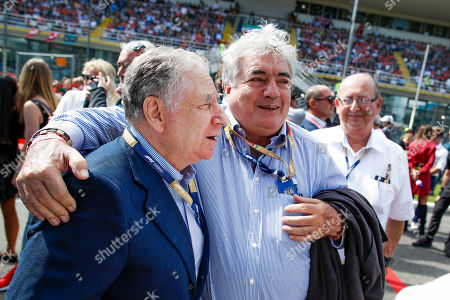 Stock Image of Motorsports: FIA Formula One World Championship 2019, Grand Prix of Italy,  Jean Todt (FRA, FIA President),