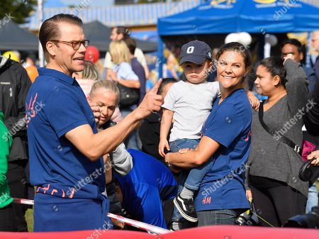 Prince Daniel, Crown Princess Victoria and Prince Oscar