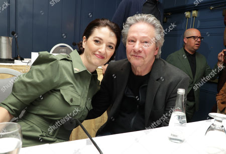 Stock Image of Toronto, Canada - Sept. 8, 2019: Marielle Heller, Director, and Chris Cooper seen at TriStar Pictures 'A Beautiful Day in the Neighborhood' panel discussion at The Fairmont Royal York during the Toronto International Film Festival.