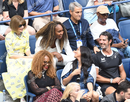 Anna Wintour, Venus Williams, Oracene Price, and Meghan Duchess of Sussex