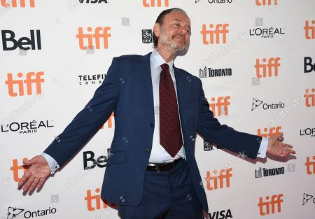 "Fisher Stevens attends a premiere for ""And We Go Green"" on day four of the Toronto International Film Festival at the Ryerson Theatre, in Toronto"