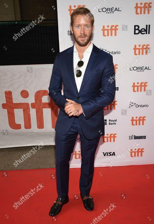"Stock Picture of Professional racing driver Sam Bird attends a premiere for ""And We Go Green"" on day four of the Toronto International Film Festival at the Ryerson Theatre, in Toronto"