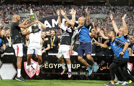 Editorial photo of Zamalek SC vs Pyramids FC, Alexandria, Egypt - 08 Sep 2019