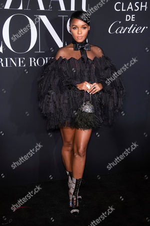 """Janelle Monae attends the Harper's Bazaar """"ICONS By Carine Roitfeld"""" gala at The Plaza Hotel presented by Cartier, in New York"""