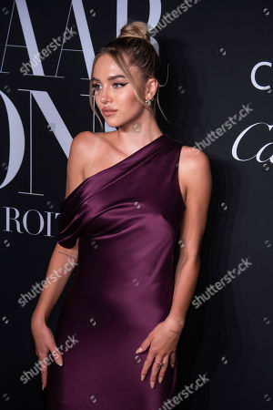 """Delilah Belle Hamlin attends the Harper's Bazaar """"ICONS By Carine Roitfeld"""" gala at The Plaza Hotel presented by Cartier, in New York"""