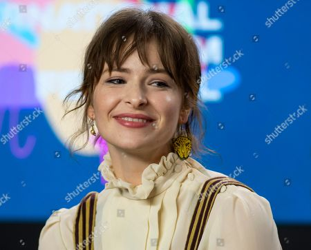 Ashleigh Cummings attends the press conference for the movie 'The Goldfinch' during the 44th annual Toronto International Film Festival (TIFF), in Toronto, Canada, 08 September 2019. The festival runs 05 to 15 September.