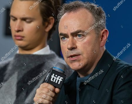 Ansel Elgort (L) and Irish director John Crowley attend the press conference for the movie 'The Goldfinch' during the 44th annual Toronto International Film Festival (TIFF), in Toronto, Canada, 08 September 2019. The festival runs 05 to 15 September.