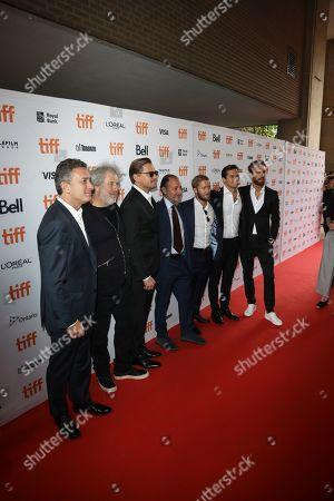 Alejandro Agag, Malcom Venville, Leonardo DiCaprio, Fisher Stevens, Sam Bird, Nelson Piquet Jr., Jean Eric Vergne