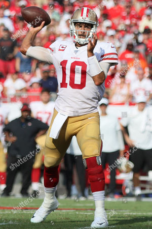 Editorial photo of NFL 49ers vs Buccaneers, Tampa, USA - 08 Sep 2019