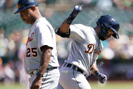 Editorial picture of Tigers Athletics Baseball, Oakland, USA - 08 Sep 2019