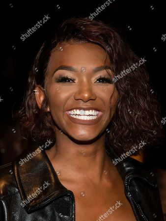 Stock Picture of Elisa Johnson attends the LaQuan Smith runway show during NYFW Spring/Summer 2020, in New York