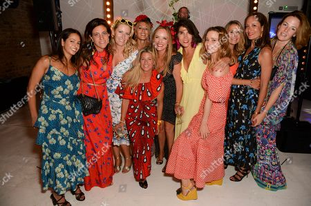 Editorial image of Marisa Horden's 40th birthday party, London, UK - 07 Sep 2019