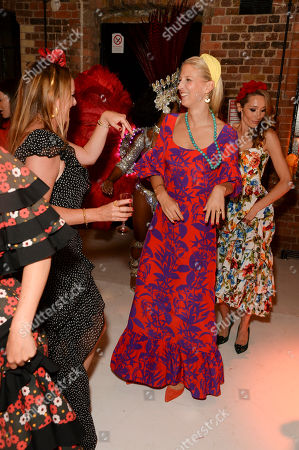 Editorial picture of Marisa Horden's 40th birthday party, London, UK - 07 Sep 2019