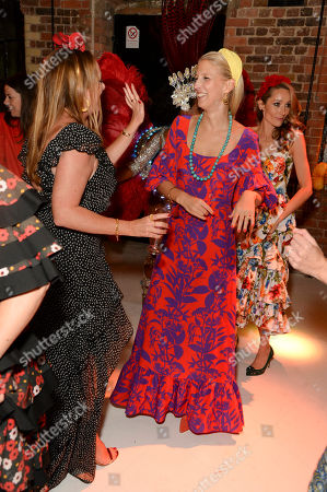 Stock Picture of Marisa Horden and Lady Gabriella Windsor